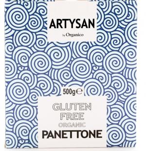 ORGANICO ARTYSAN GLUTEN FREE PANETTONE – 500G