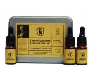 Good Day Organics 'Sharp Dressed Man' Beard Oils Gift Set