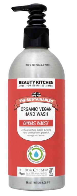 Beauty Kitchen The Sustainables Citrus Burst Organic Vegan Hand Wash
